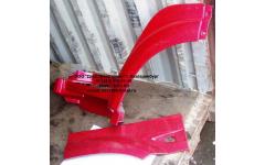 Крыло кабины со спальником красное левое H3