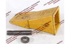 Наконечник зуба с пальцем (LG855.11 III.01-024) и шайбой (LG855.11 III.01-025) CDM 855/856