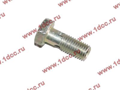 Болт пустотелый M8х1,0 (штуцер топливный) H HOWO (ХОВО) 90003962621 фото 1 Архангельск