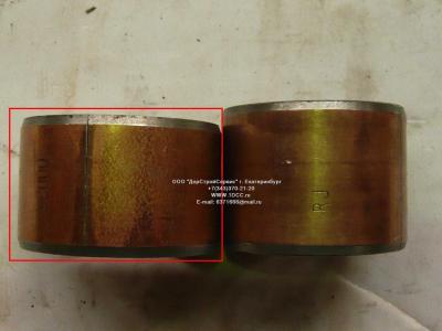 Втулка шкворня нижняя большая D=56, d=47, L=37 H2/H3 HOWO (ХОВО) WG1880410029 фото 1 Архангельск