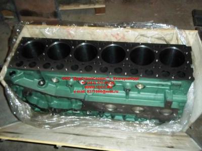 Блок цилиндров двигатель WD615.68 (336 л.с.) H2 HOWO (ХОВО) 61500010383
