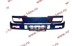 Бампер C синий верхний+нижний (в сборе) фото Архангельск