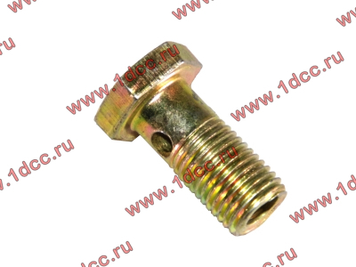 Болт пустотелый М12х1,25 (штуцер топливный) H HOWO (ХОВО) 90003962607